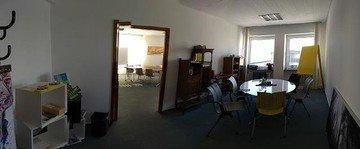 Frankfurt seminar rooms Meeting room PIER F,  Frankfurt Academy room (32 qm) with meeting room ( image 1