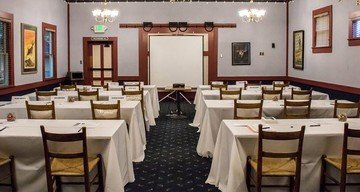 San Jose corporate event venues Lieu historique Winchester Mystery House Venetian Dining Room image 0