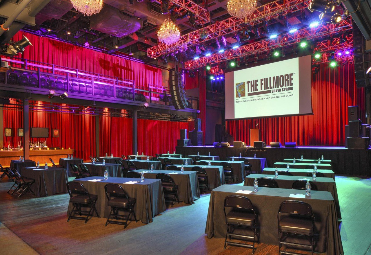 Rest of the World corporate event venues Club Silver Spring - The Fillmore - Live Nation image 0