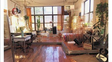 NYC  Private residence Artist loft, full sun light + outdoor image 0
