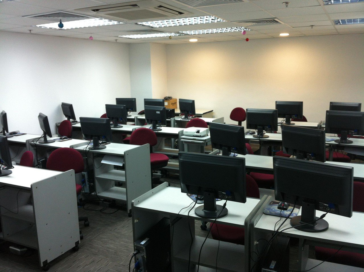 Hong Kong  Salle de projection Computer Room image 0