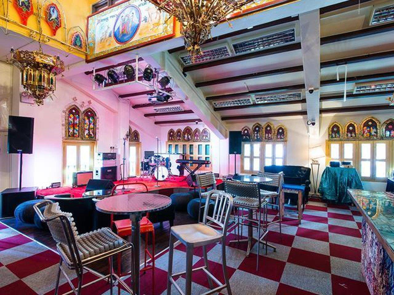 Rest der Welt workshop spaces Restaurant Blujaz Cafe image 0