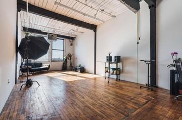 NYC workshop spaces Industriegebäude Native Creations Studio image 5