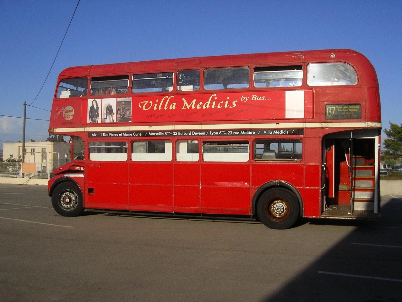 Rest of the World corporate event venues Unusual London Bus France image 2