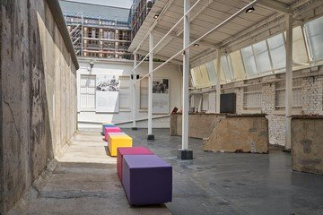 Berlin workshop spaces Patio / Cour extérieure Heartbeat of Berlin - Nineties.Berlin image 2