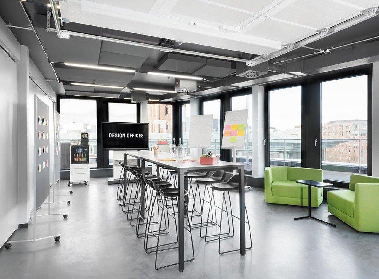 Hamburg  Salle de réunion Design Offices Hamburg Domplatz - Meet and Move Room IV image 0
