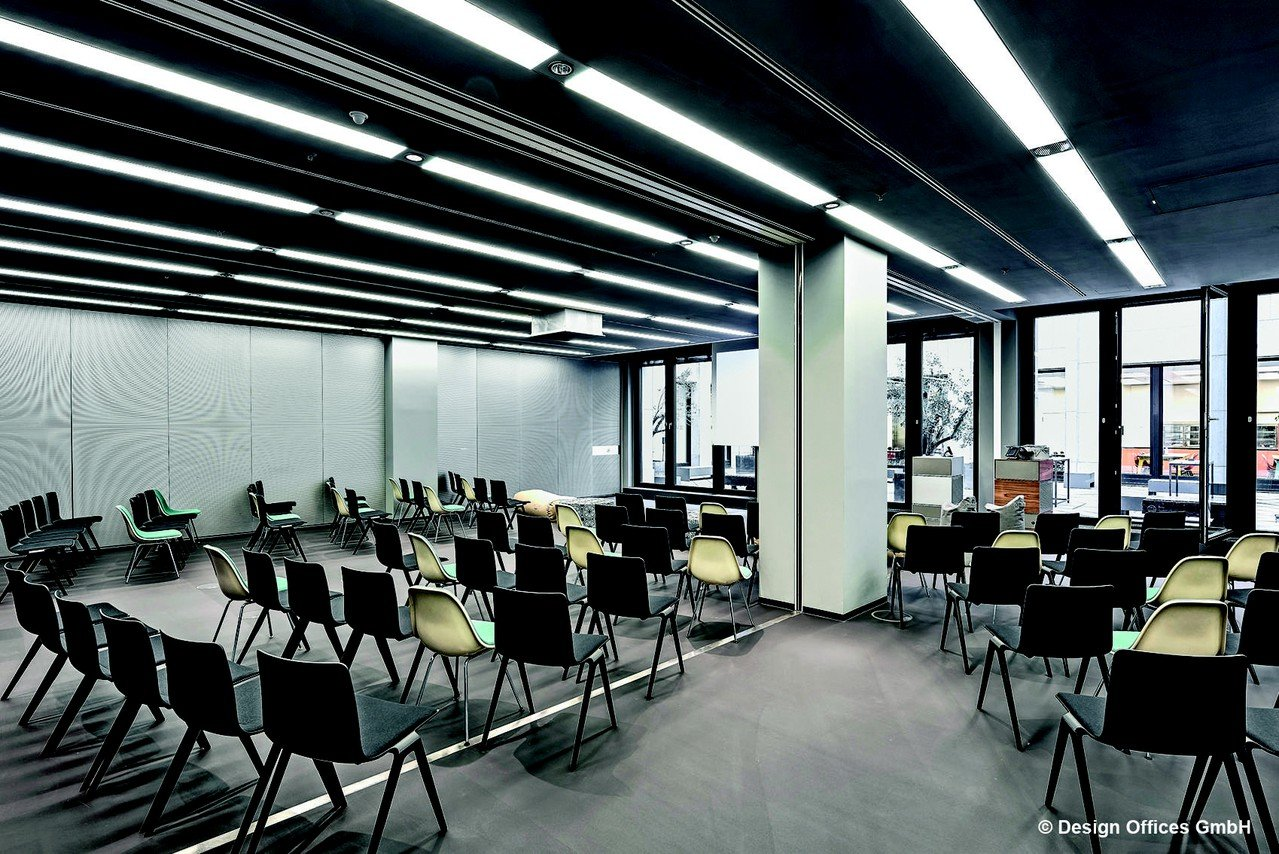 Cologne Schulungsräume Salle de réunion Design Offices Köln Dominium - Training Room 7.I +7.II image 0