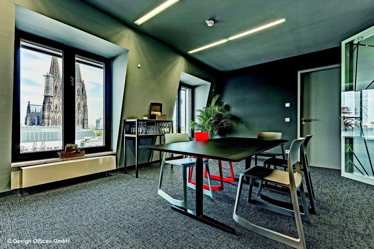 Cologne Schulungsräume Salle de réunion Design Offices Köln Dominium - Meet and Move Room 7.I image 0