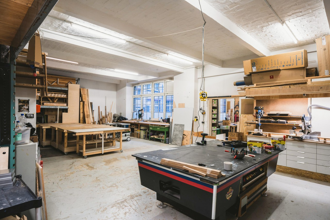 Berlin workshop spaces Industrial space Werkstatt image 0