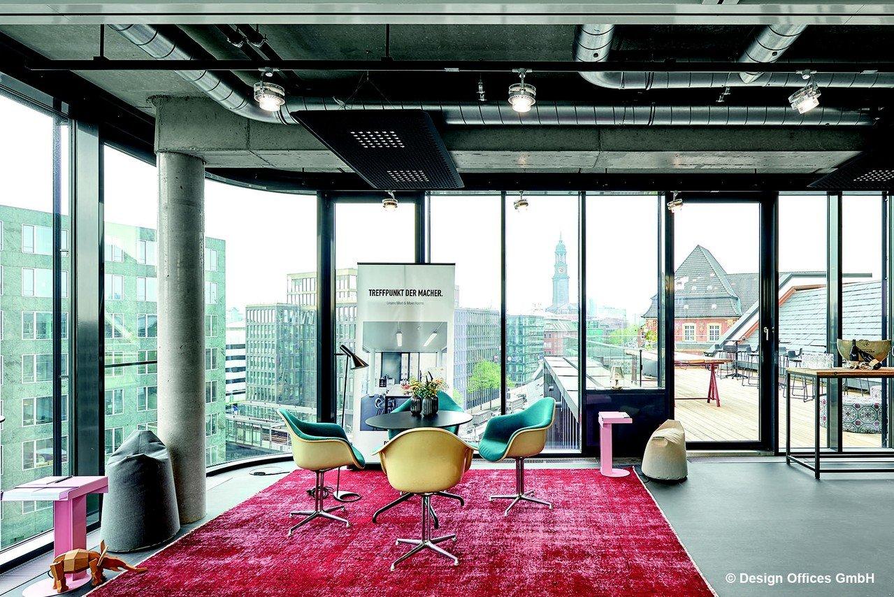 Hamburg workshop spaces Außergewöhnlich Rooftop Lounge image 0