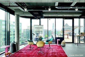 Hamburg  Unusual Design Offices Hamburg Görttwiete - Rooftop Lounge image 0