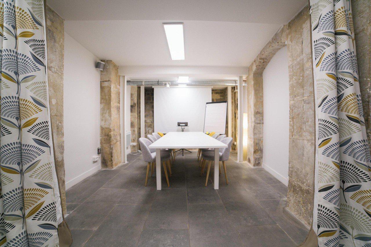 Paris Espaces de travail Espace de Coworking Sous-sol entier image 4