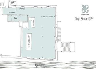 Berlin  Lieu Atypique Private Roof Club Spree, Club (5Floor) image 0