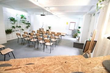Berlin workshop spaces Lieu industriel Spacebase Campus - Workshop Space (Back) image 30