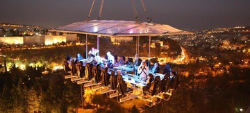Dresden corporate event venues Unusual Dinner in the sky image 4