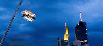 Hannover corporate event venues Unusual Dinner in the sky image 6