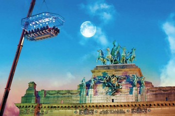 Cologne corporate event venues Lieu Atypique Dinner in the sky image 5