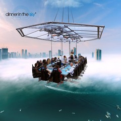 Mannheim corporate event venues Unusual Dinner in the sky image 3