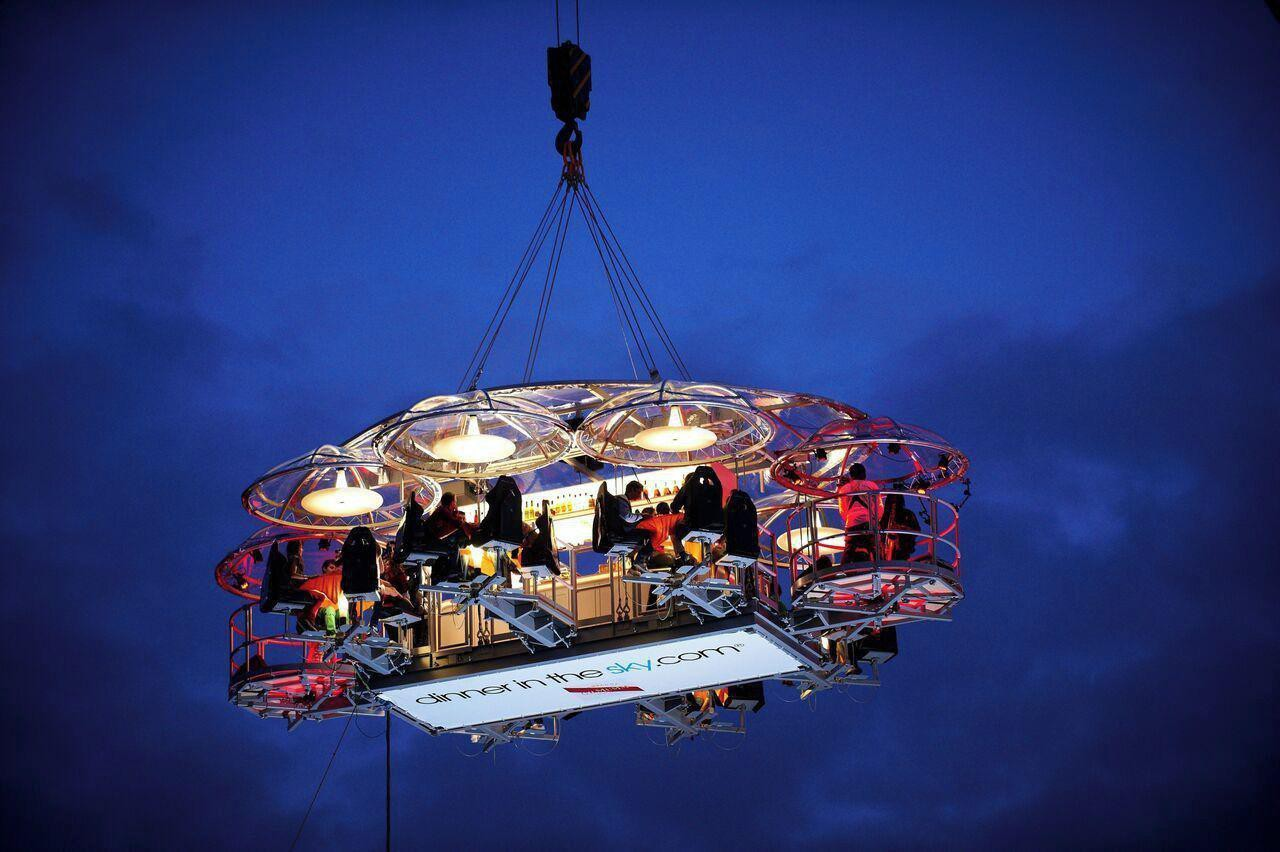 Hannover corporate event venues Unusual Lounge in the sky image 0