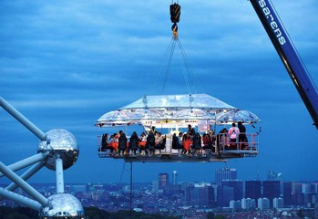 Stuttgart corporate event venues Lieu Atypique Lounge in the sky image 2
