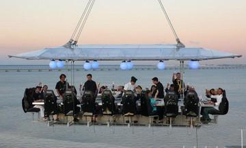 Kassel corporate event venues Besonders Dinner in the sky image 5