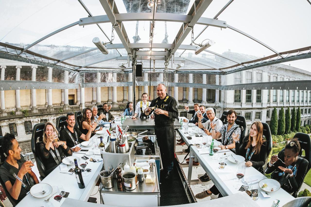 Kassel corporate event venues Besonders Dinner in the sky image 0