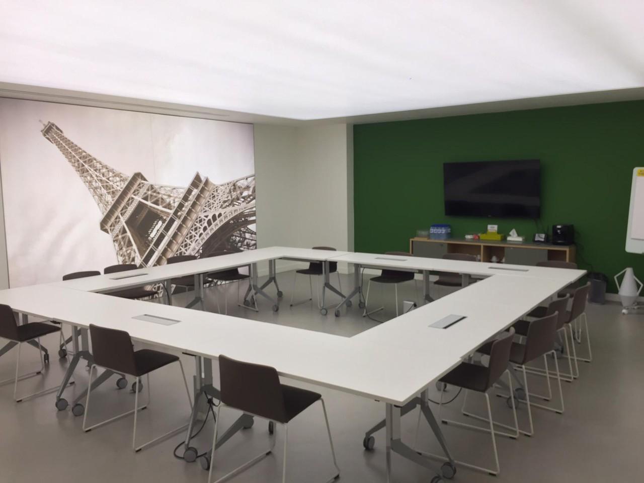 Autres villes workshop spaces Salle de réunion Regus PARIS, Spaces Réaumur salle Consortium image 10