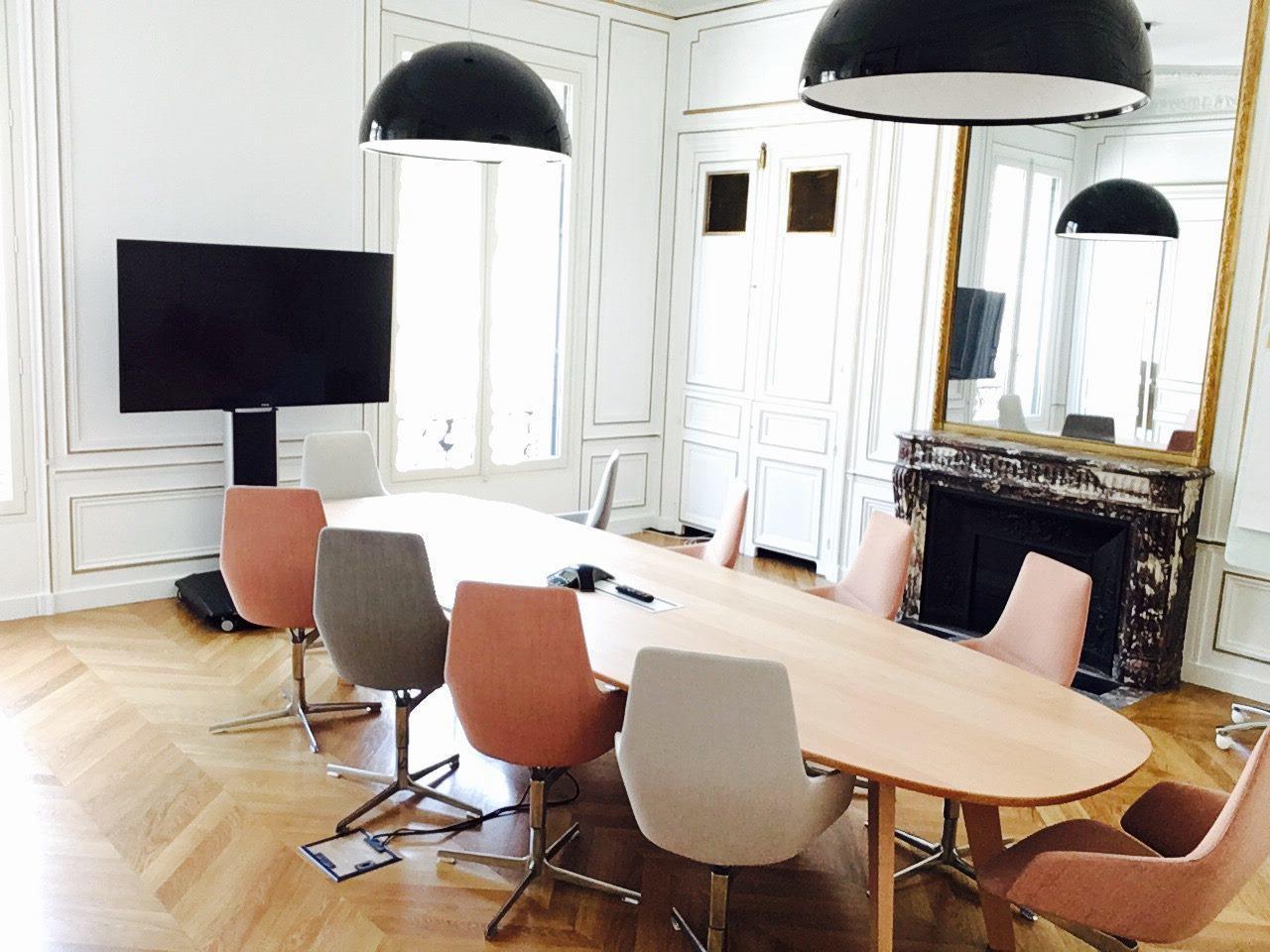 Autres villes conference rooms Salle de réunion Regus PARIS, Spaces Réaumur salle De Schilde image 0