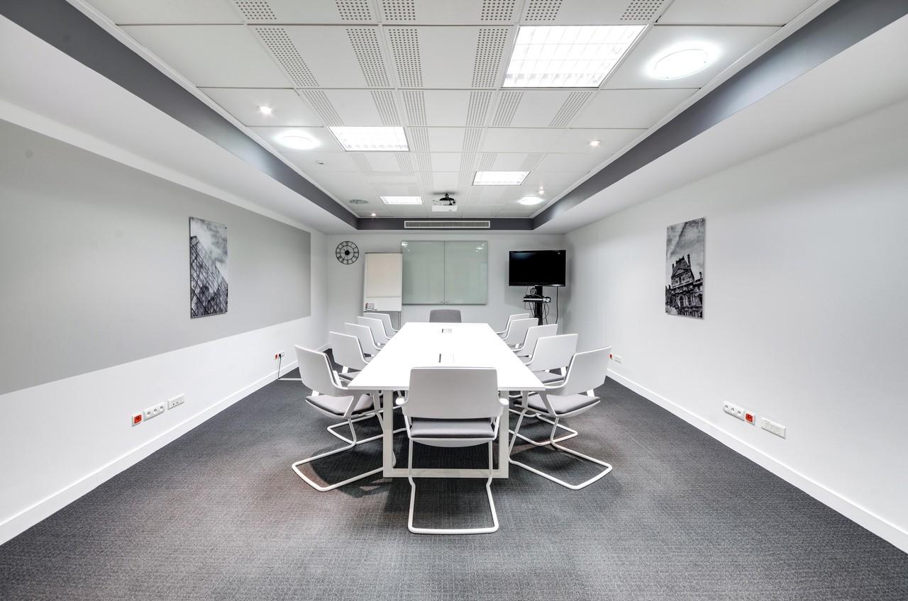 Paris training rooms Salle de réunion Regus Regus PARIS, Saint Lazare salle Chaumont image 0