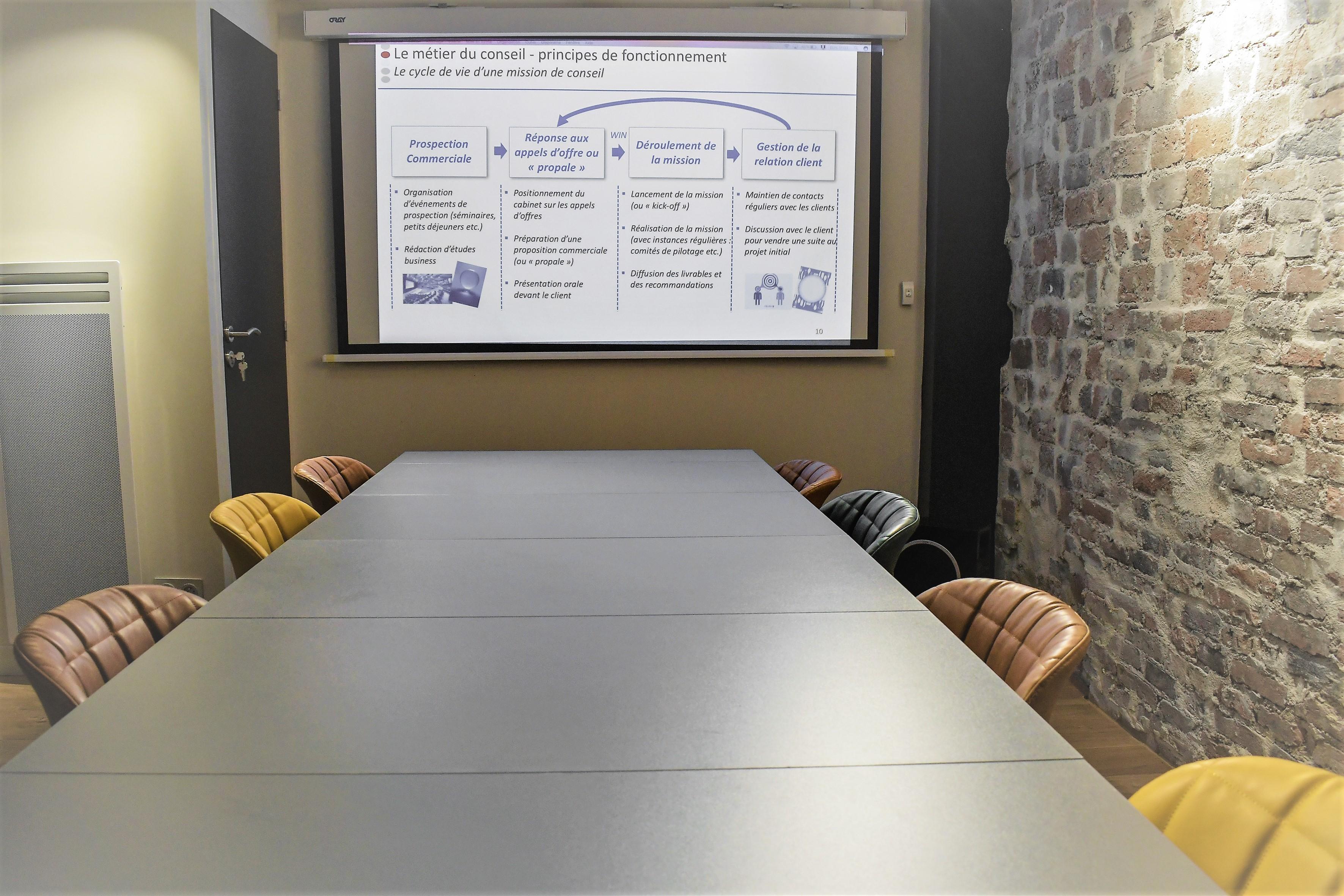 Paris training rooms Salle de réunion Espace de réunion image 1