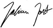 Julian Jost sign